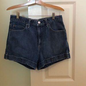 High-rise Gap Jean Shorts